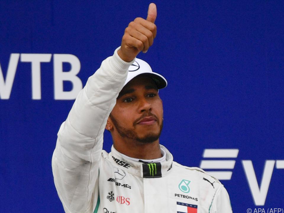 Glücklich war Hamilton über den geschenkten Sieg nicht
