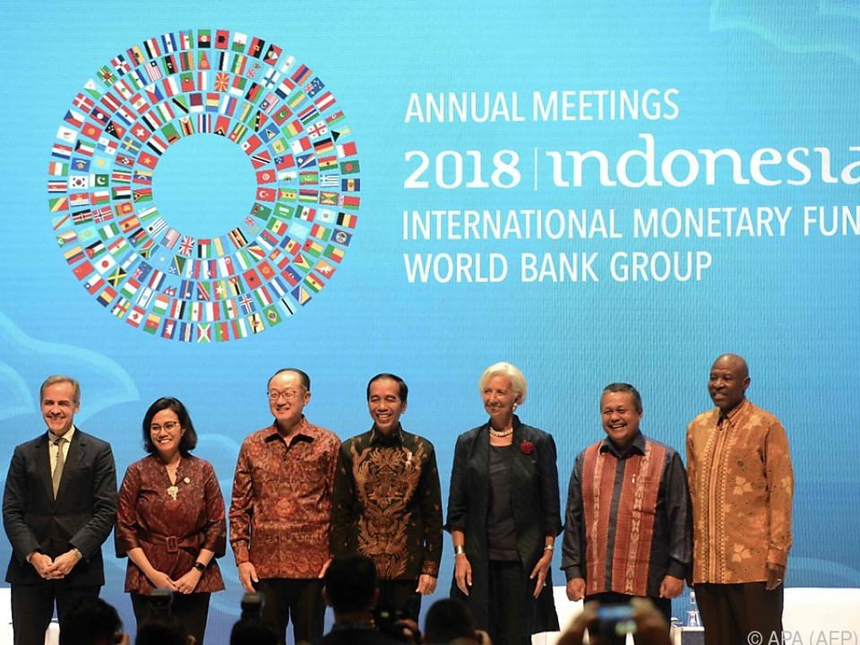Gruppenfoto der IWF-Jahrestagung auf Bali