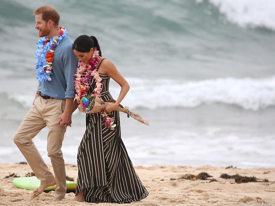 Harry und Meghan bereisen derzeit Australien