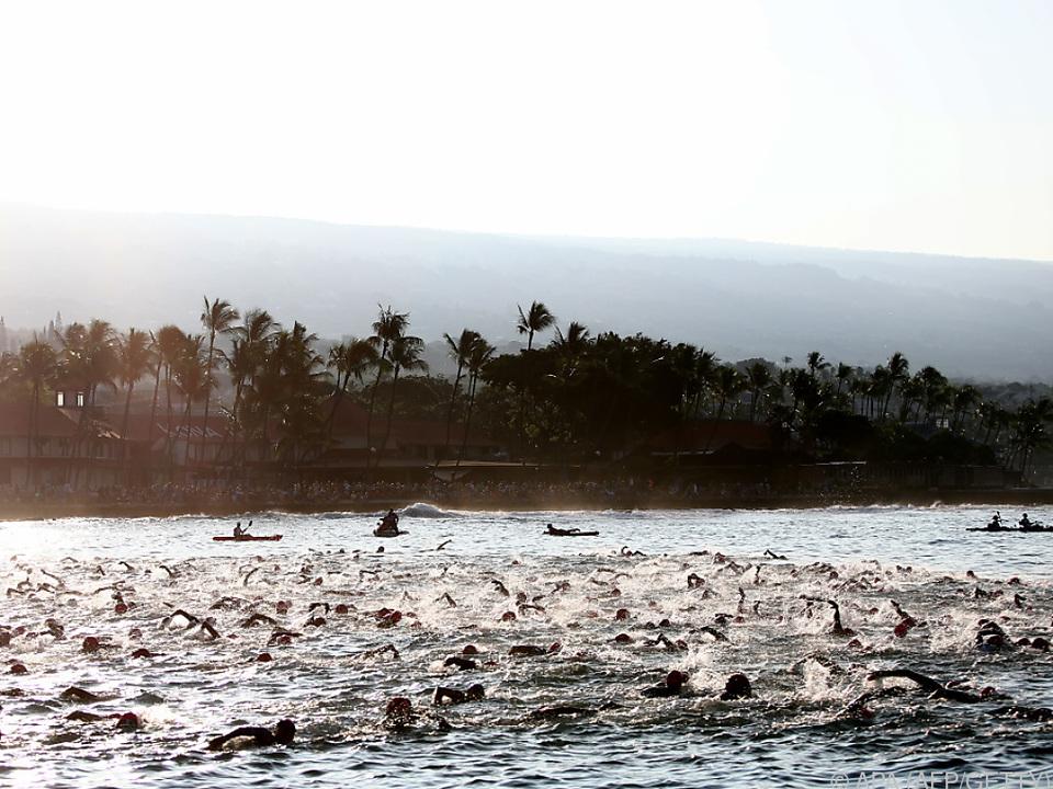 Hawaii-Ironman findet zum 40. Mal statt