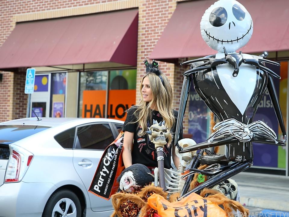 Heidi Klum liebt Halloween