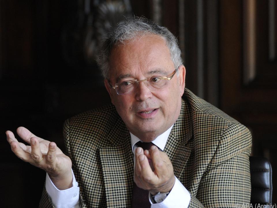 Heinz Engl verhandelte mit dem Ministerium