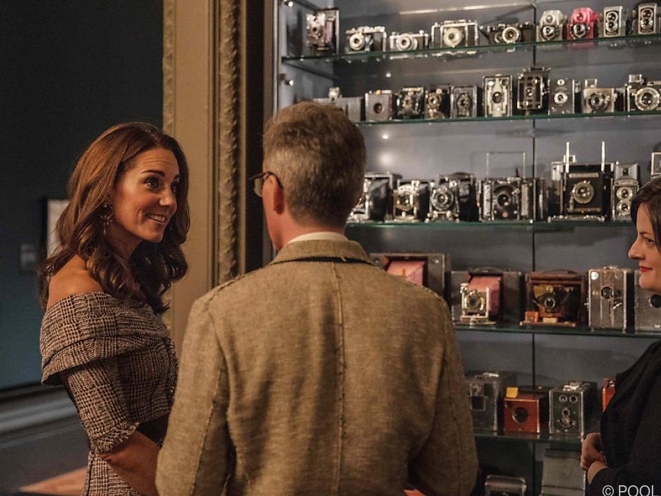 Herzogin Kate eröffnete das neue Fotografie-Zentrum