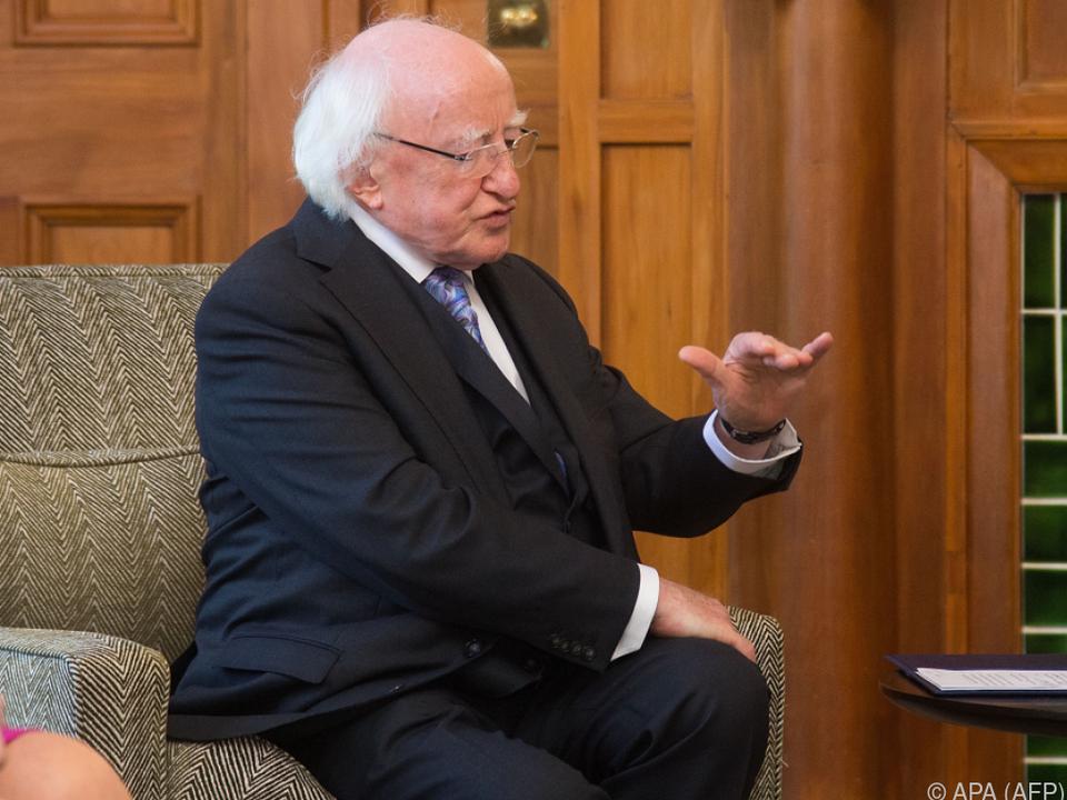 Higgins ist seit 2011 Präsident