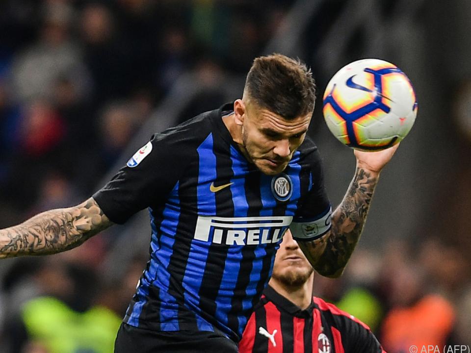 Icardi entschied das Derby für Inter