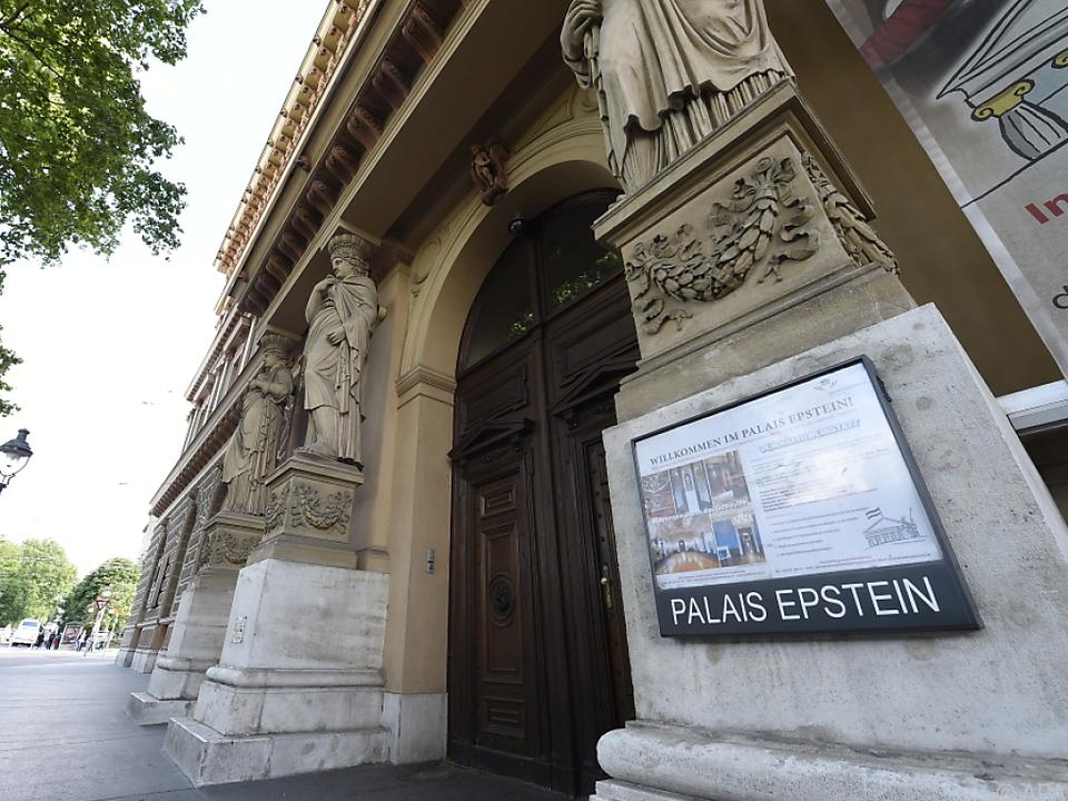 Im Palais Epstein findet die umstrittene Verleihung statt