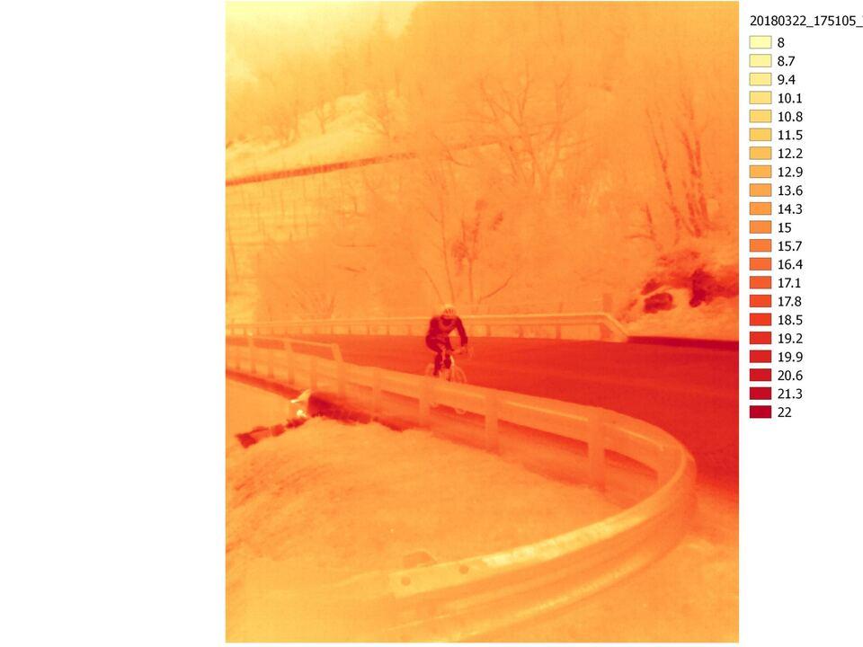 Thermisches Bild, Eurac Research