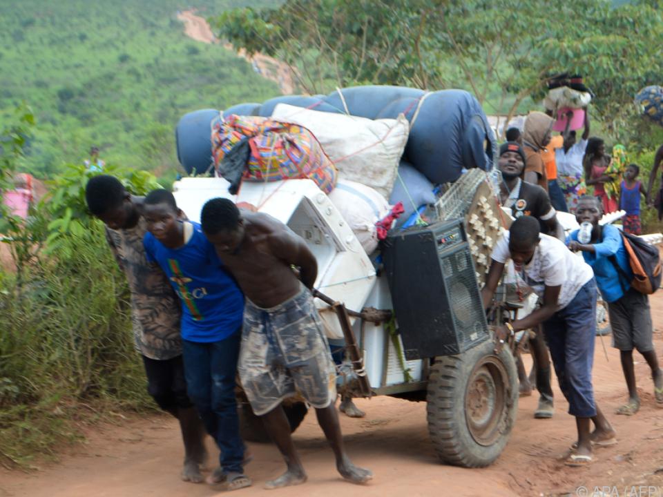 Immer mehr Menschen flüchten
