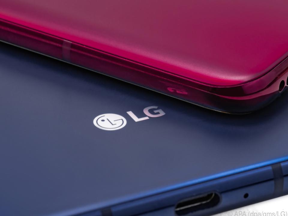 Nur 7,7 Millimeter dick ist das LG V40 Thinq