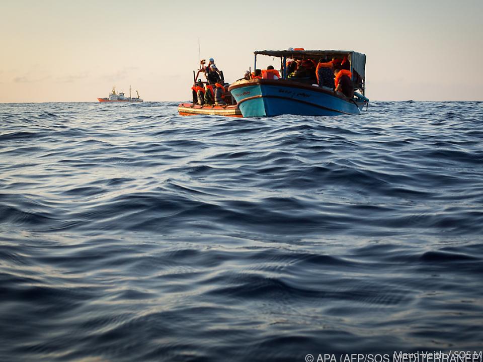 Jeder fünfte Mensch kommt auf dem Seeweg ums Leben