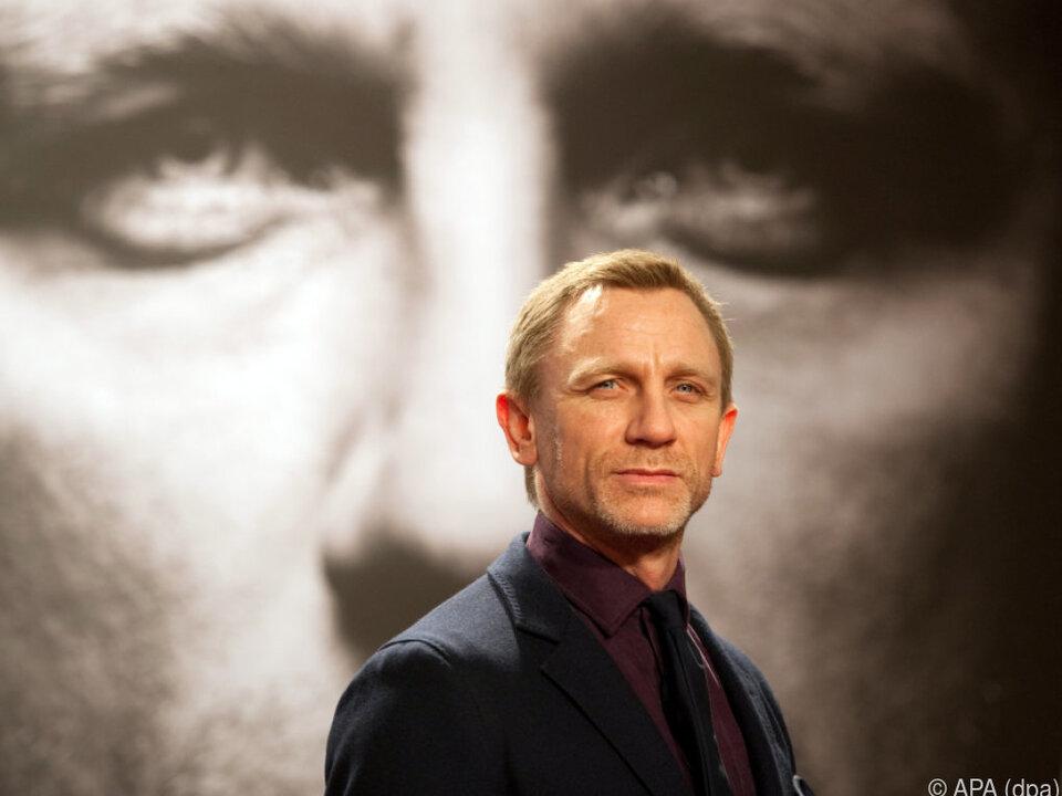 Jung-Papa Daniel Craig wird die Kritik wegstecken