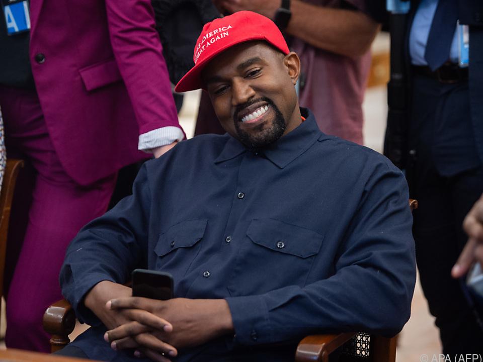 Kanye wurde vom US-Präsidenten im Weißen Haus empfangen