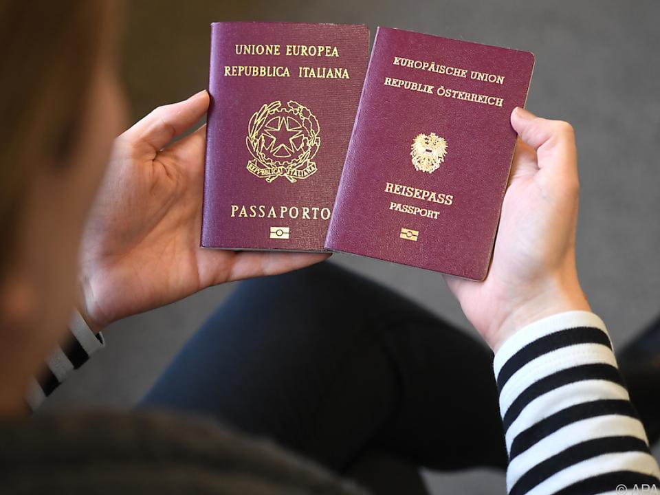 Kein Doppelpass für italienischsprachige Südtiroler?