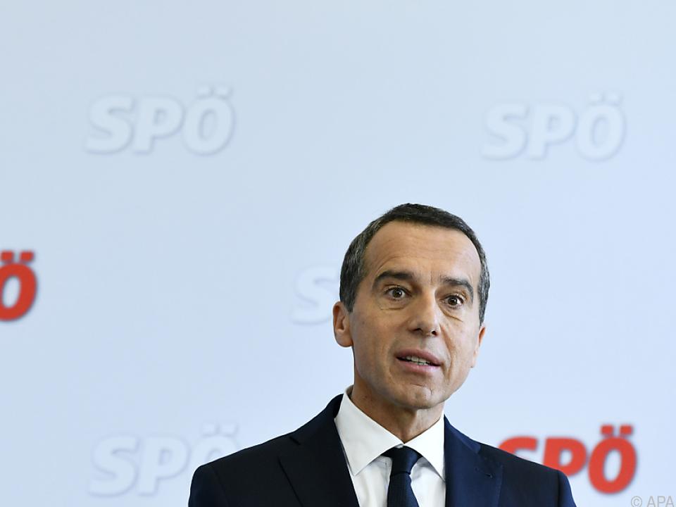 Kern tritt bei der EU-Wahl doch nicht als Spitzenkandidat der SPÖ an