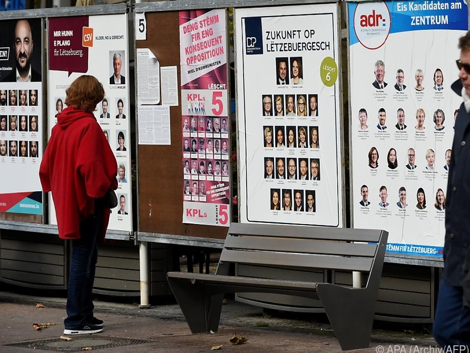 Kompliziertes Wahlsystem in Luxemburg