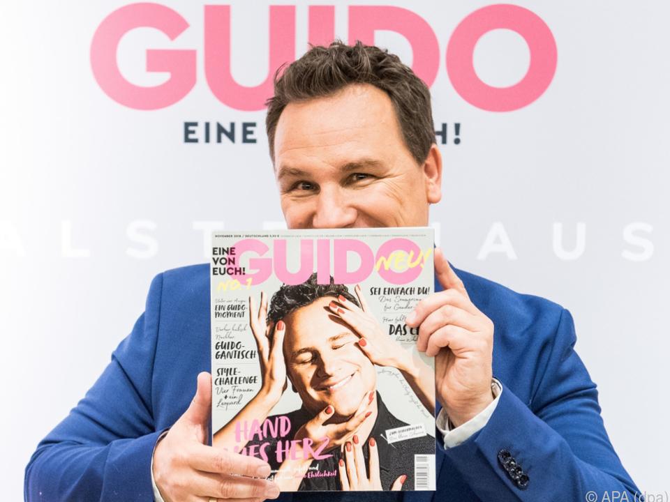 Kretschmer stellte kürzlich sein Magazin \
