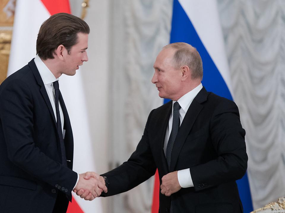 Kurz und Putin forcieren Nord Stream 2