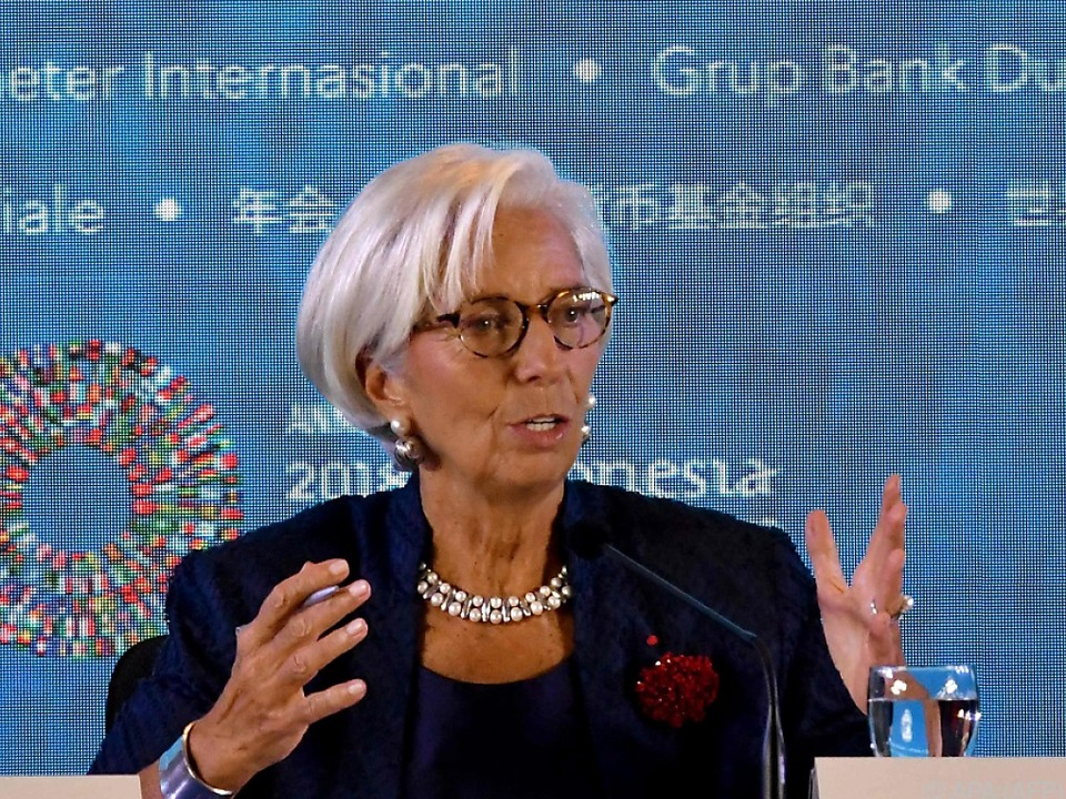 Lagarde bestätigte das Ansuchen des Landes