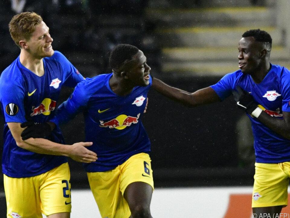 Leipzig konnte einen 3:1-Sieg in Trondheim bejubeln
