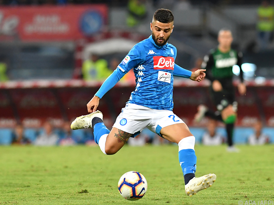 Lorenzo Insigne traf für Napoli