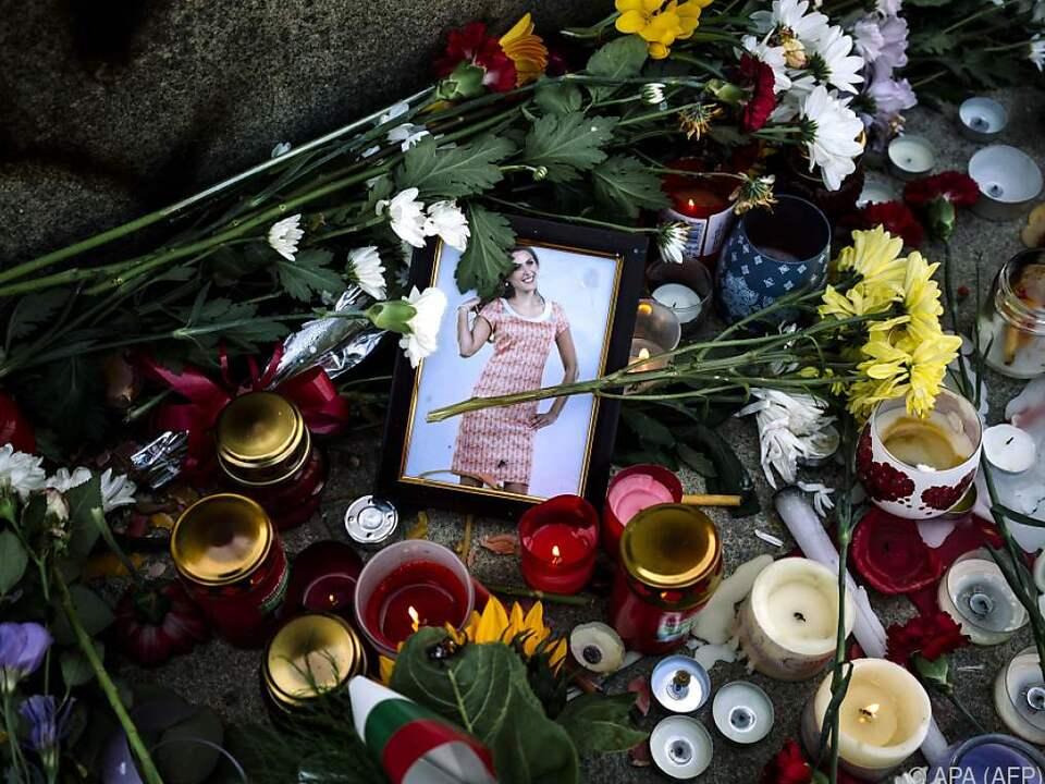 Marinowa war am Samstag vergewaltigt und erwürgt worden