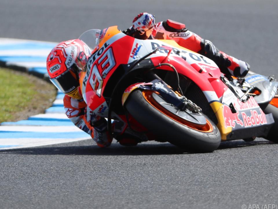 Marquez fuhr sicher Richtung Pole Position