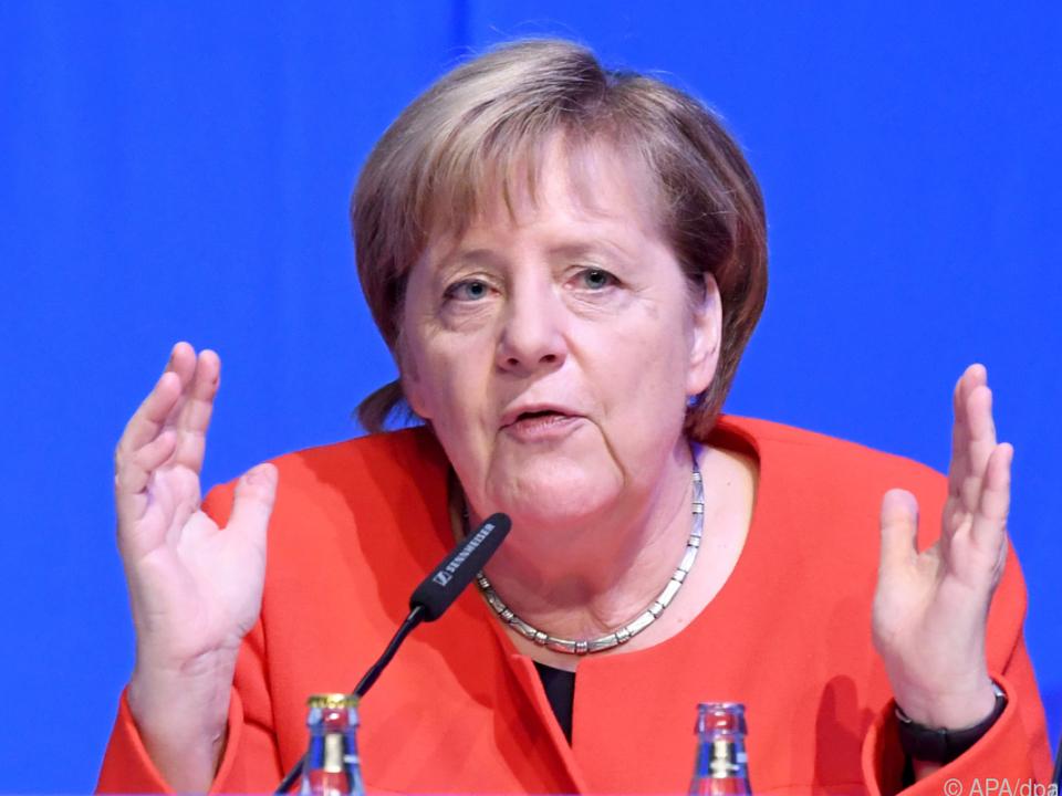 Merkel forderte einen gemeinsamen Plan in der Flüchtlingspolitik