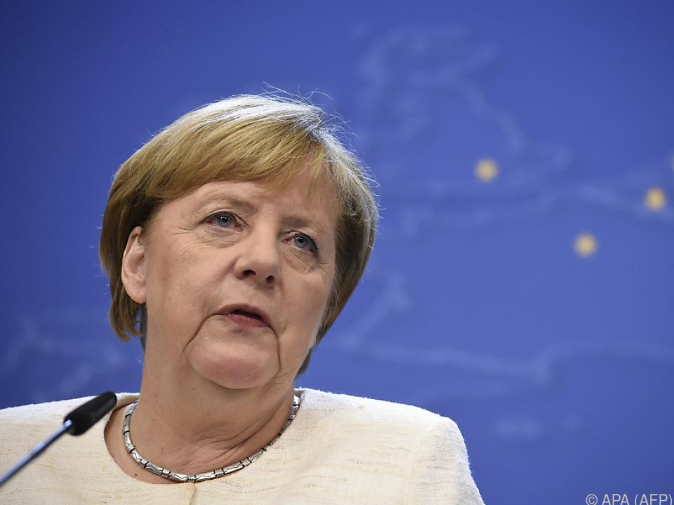 Merkel will alles daran setzen, um Lösung zu finden