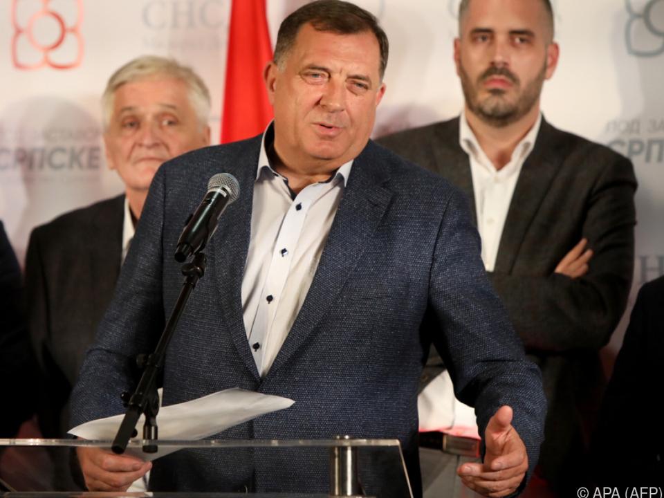 Milorad Dodik: \