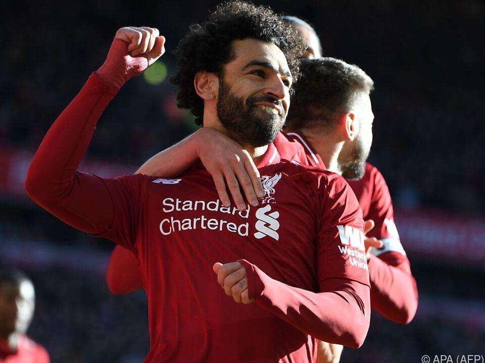 Mohamed Salah darf sich freuen