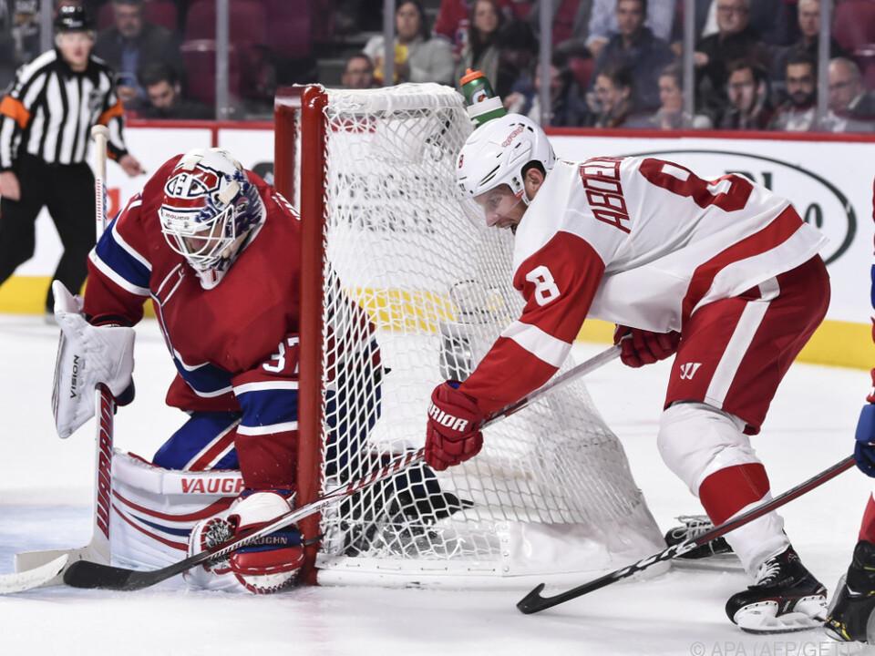 Nichts zu holen für die Red Wings in Montreal