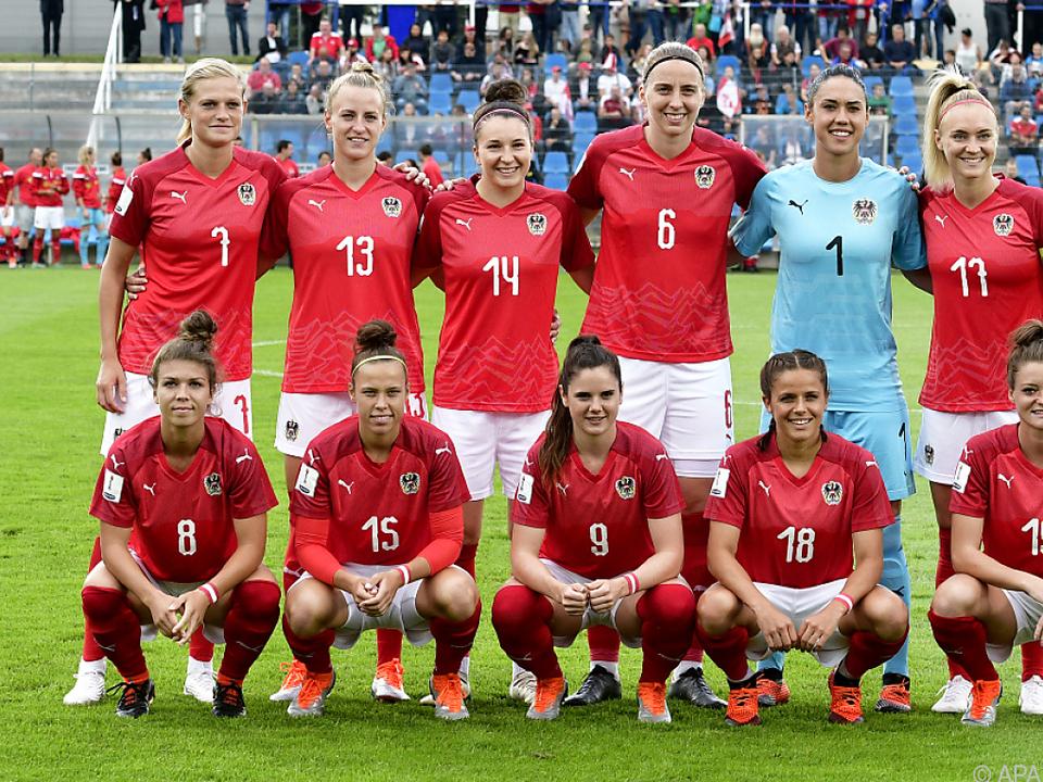 ÖFB-Damen freuen sich auf das Duell mit Deutschland