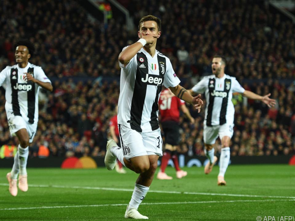 Paulo Dybala fixierte Juve-Sieg im Old Trafford