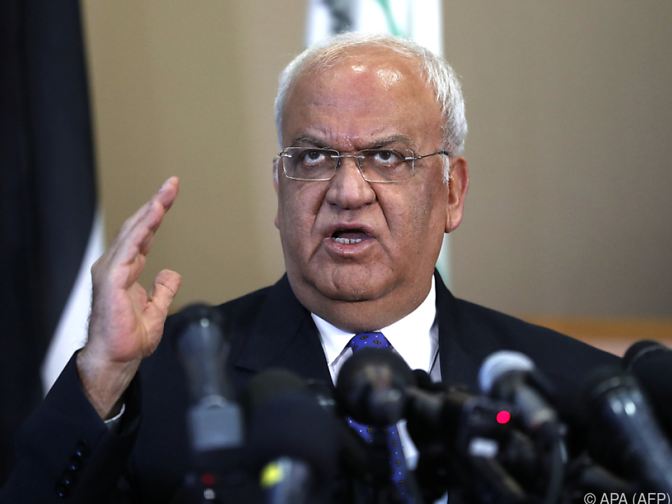 PLO-Generalsekretär Saeb Erekat