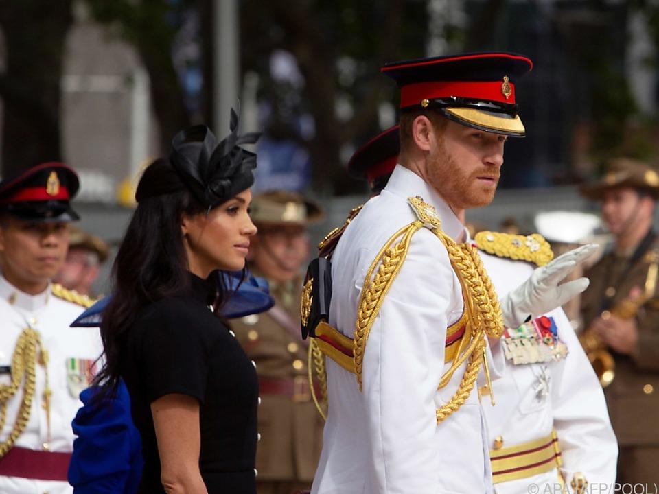 Prinz Harry und Herzogin Meghan touren gerade durch Australien