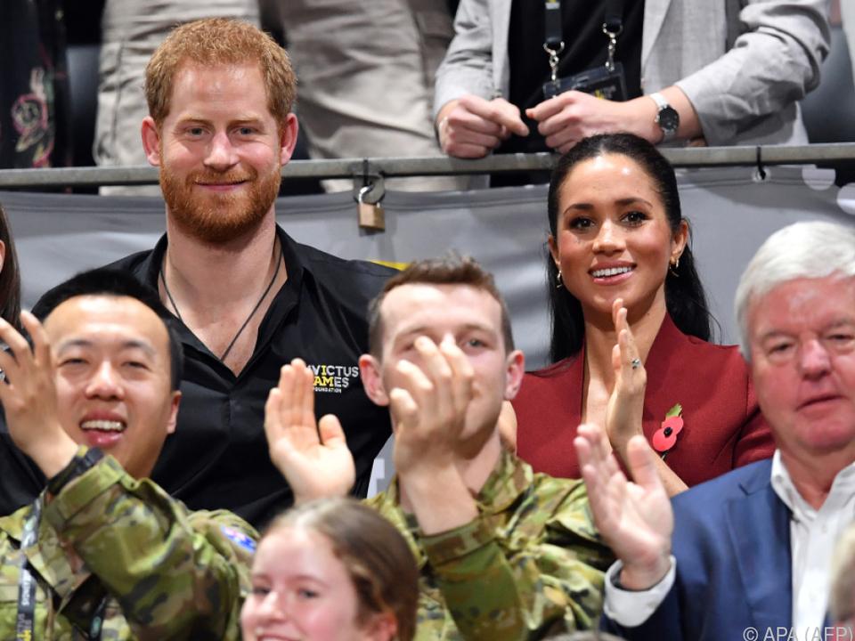 Prinz Harry und Meghan brauchten keine VIP-Plätze