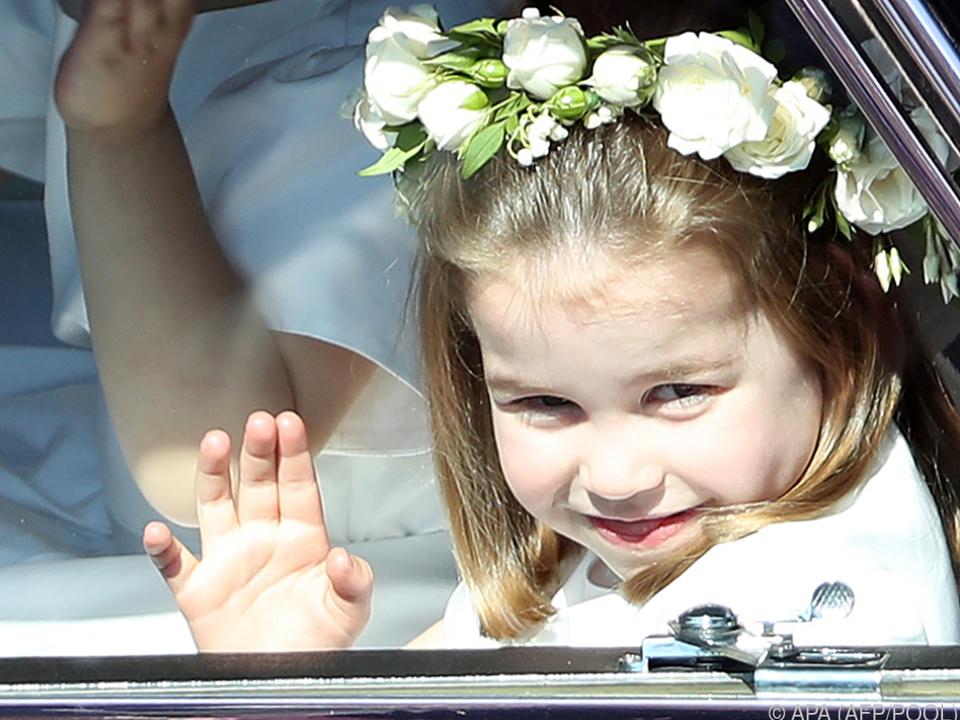 Prinzessin Charlotte und ihr Bruder sind bei der Hochzeit dabei