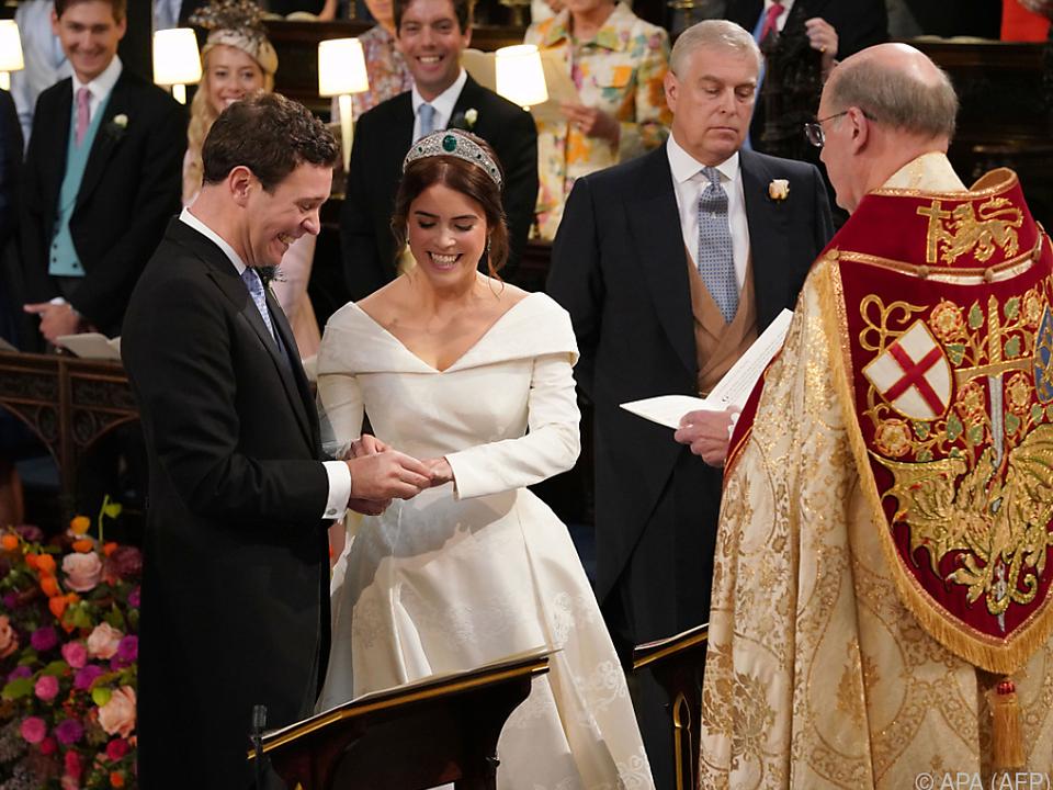 Prinzessin Eugenie und Jack Brooksbank sind jetzt verheiratet