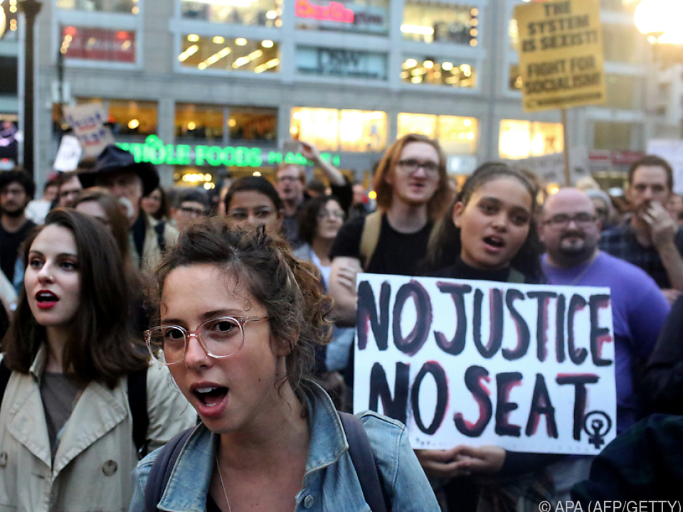 Proteste mit klaren Parolen