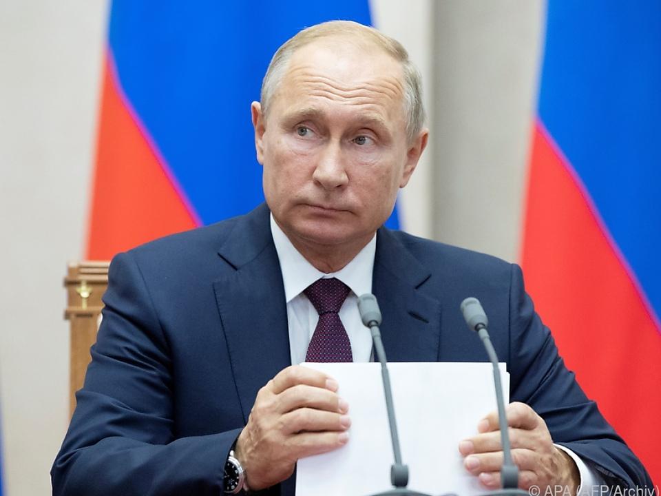 Putin nannte keine Details zu den IS-Forderungen