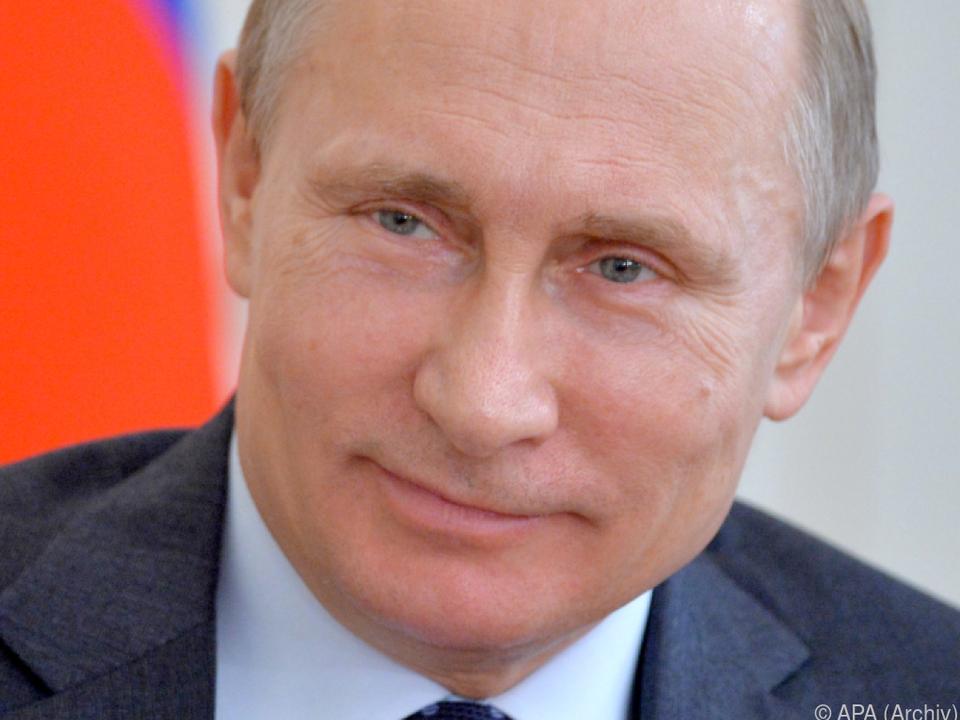 Putin will von nichts wissen