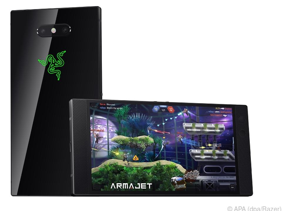 Das Razer Phone 2 verfügt über einen besonders großen Akku