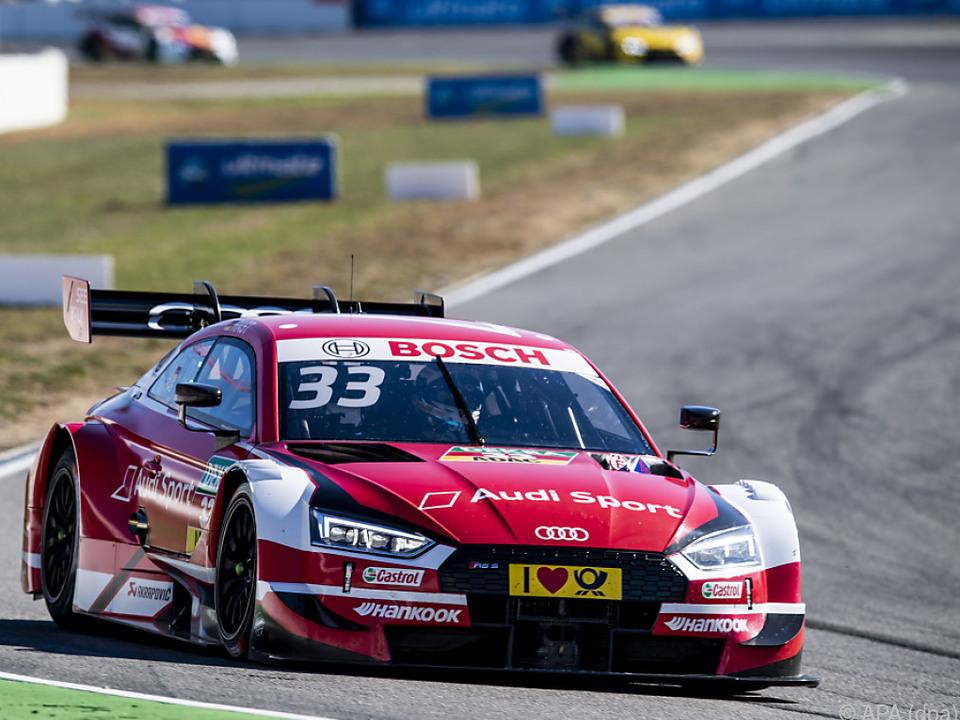 Rene Rast gewann auf dem Hockenheimring