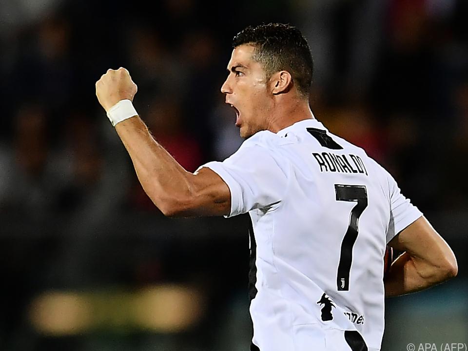 Ronaldo entschied die Partie im Alleingang