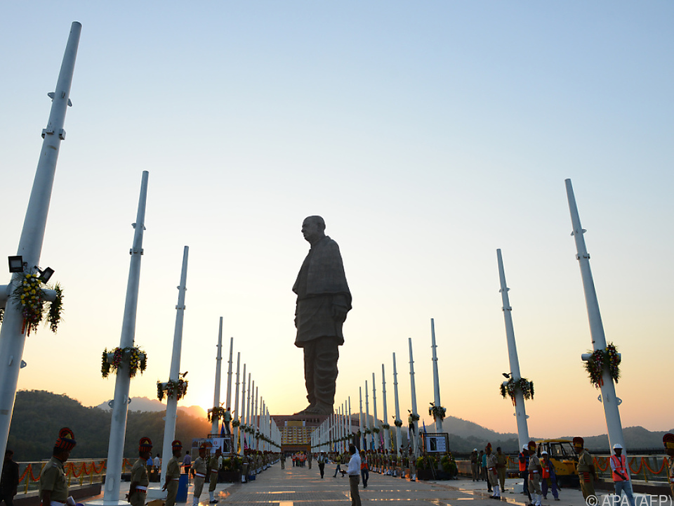 Sardar Vallabhbhai Patel mit Denkmal geehrt