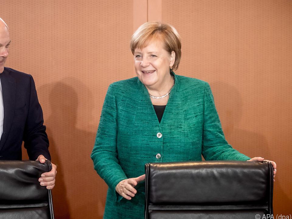 Scholz und Merkel erklärten das Eckpunktpapier