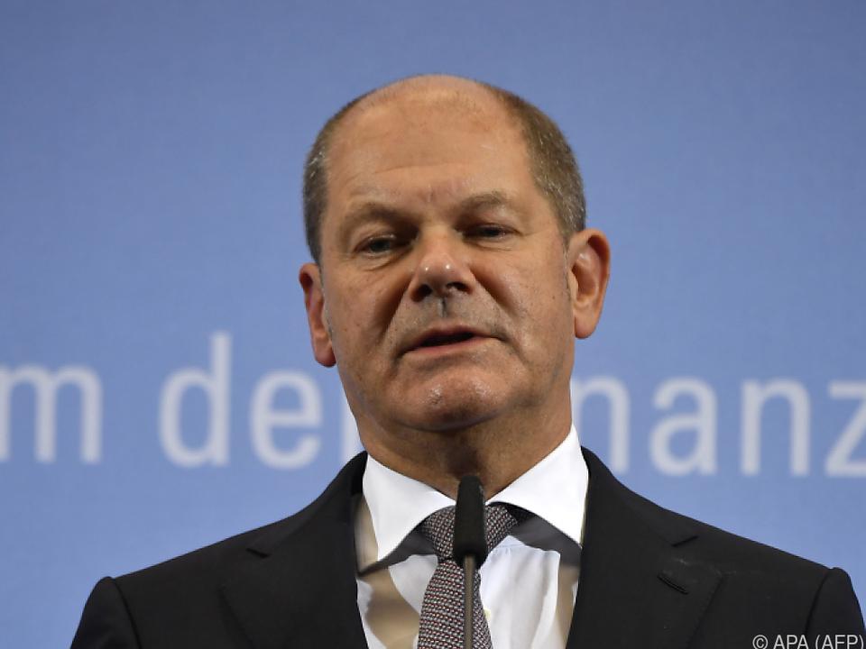 Scholz will weltweiten Mindessteuersatz
