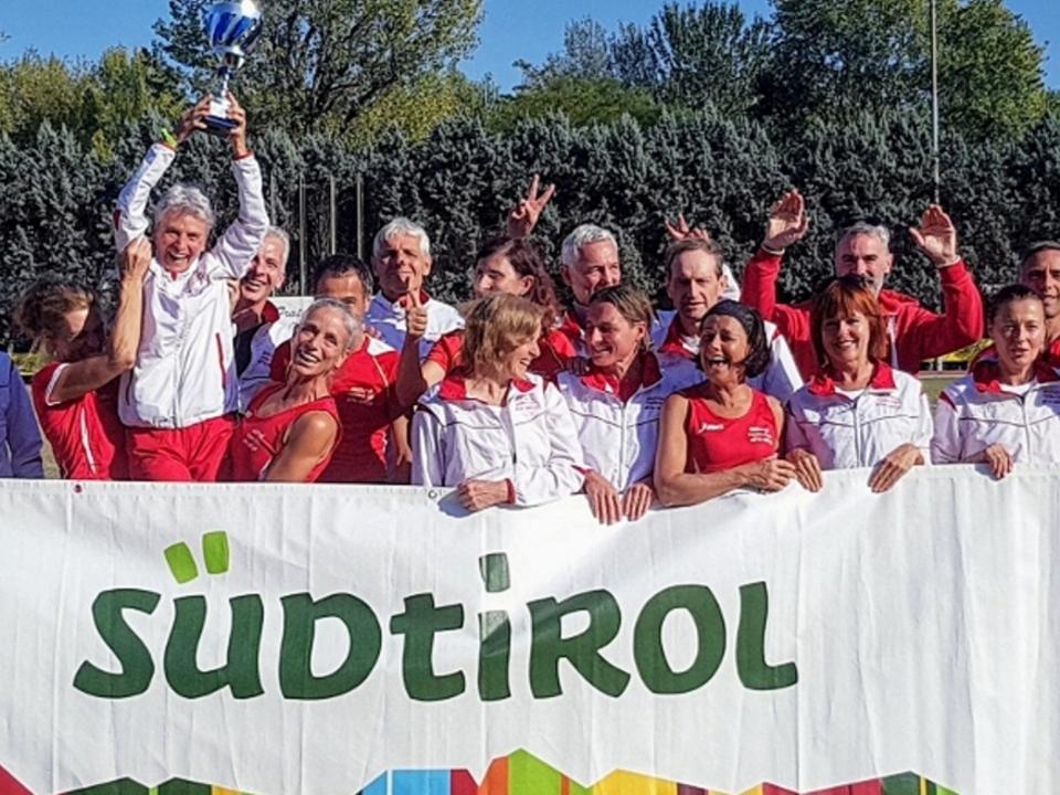 Masters-Mannschafts-Italienmeisterschaft - Campionati Italiani di   società Modena Foto: FIDAL BZ