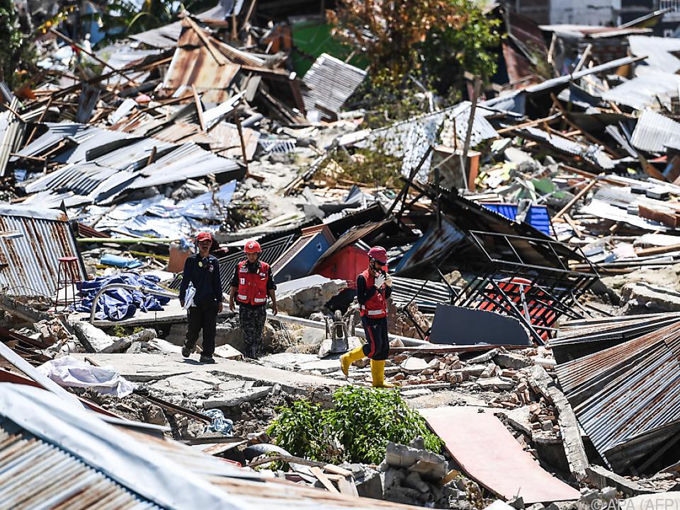 Seit Tagen wurden keine Überlebenden mehr unter den Trümmern gefunden