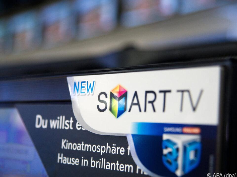 Smart TVs stehen bereits in vielen Wohnzimmern